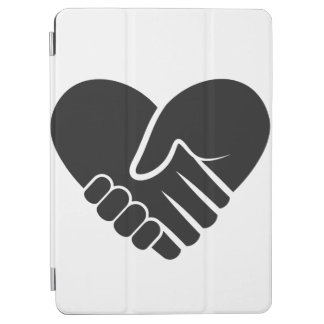 Love Connected black heart iPad Air Cover
