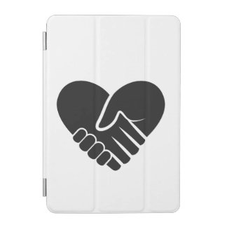 Love Connected black heart iPad Mini Cover