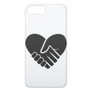 Love Connected black heart iPhone 8 Plus/7 Plus Case