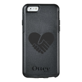 Love Connected black heart OtterBox iPhone 6/6s Case