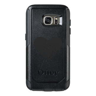 Love Connected black heart OtterBox Samsung Galaxy S7 Case