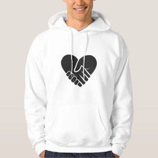 Love Connected black Hoodie