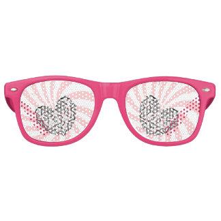 Love Conquers Hate Retro Sunglasses