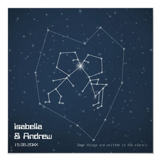 Love Constellation Card