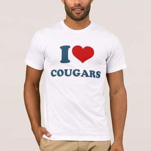 Love Cougars T-Shirt