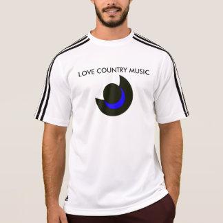 LOVE COUNTRY MUSIC T SHIRT
