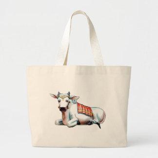 Love Cow Canvas Bag