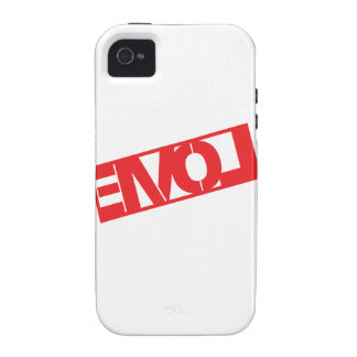 Love Crate Stamp Vibe iPhone 4 Case