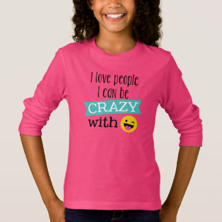 Love Crazy People Emoji T-Shirt