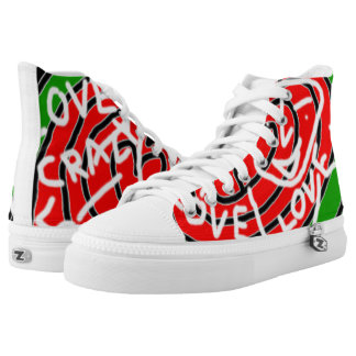 Love Crazy Printed Shoes