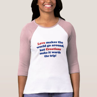 Love Croatians T Shirt