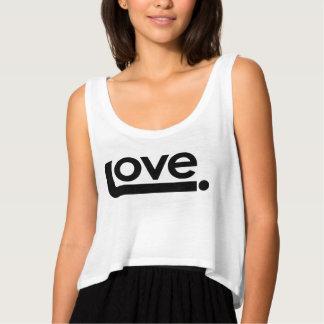 Love. Crop Tank Top