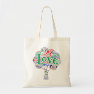 Love Custom Budget Tote Bag