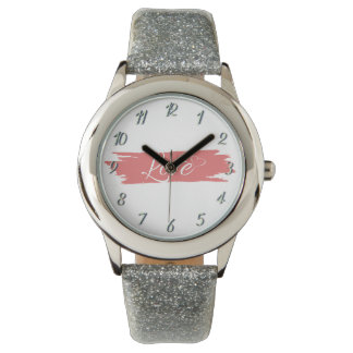 Love Custom Watch 340 Silver By Zazz_it