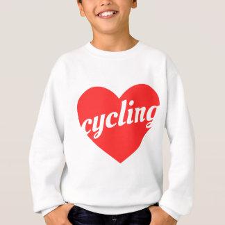 Love Cycling. Bike themed gift Sweatshirt