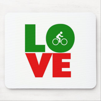 Love Cycling Mouse Pads