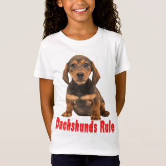 Love Dachshund Puppy Dog Tee Shirt
