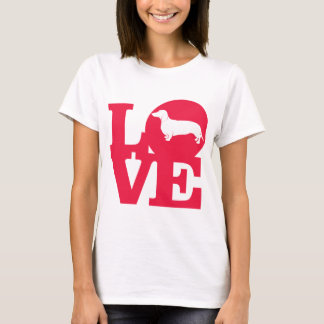 Love Dachshunds !!! T-Shirt