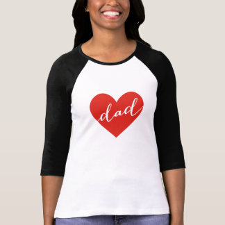 Love dad. happy father's day shirt