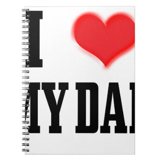 love dad notebook