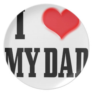 love dad plate