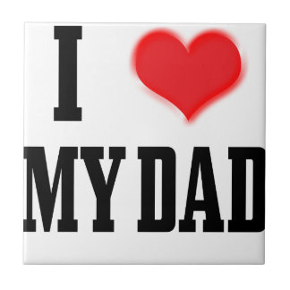 love dad tile