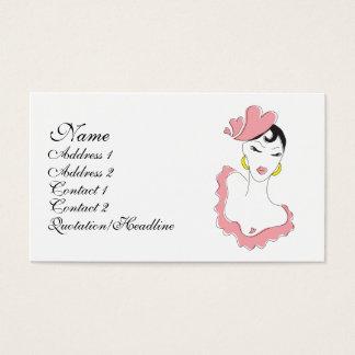 love dance. business card