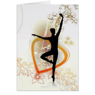 love dance card