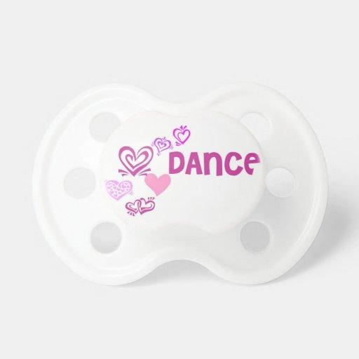 Love Dance Baby Pacifier