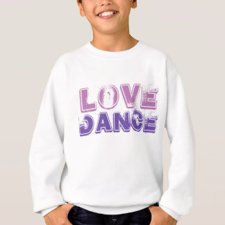 Love Dance Girls Tshirt Sweater