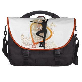 love dance laptop shoulder bag