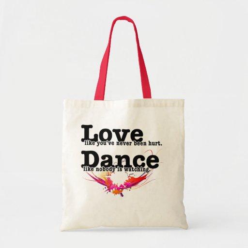 Love, Dance, Live Bag