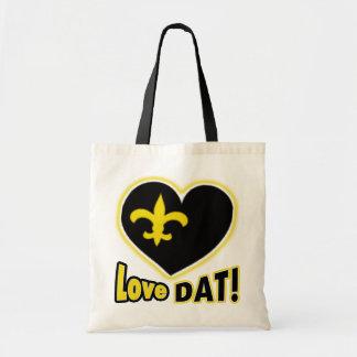 love DAT! Black & Gold  Heart de Lis