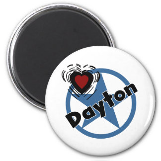 Love Dayton Refrigerator Magnets