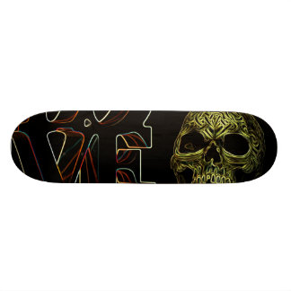 love - death 20.6 cm skateboard deck