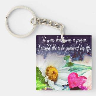 Love, declaration of love/Declaration OF love Key Ring