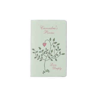 Love Deeply Pocket Moleskine Notebook