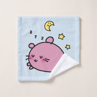 LOVE♡DEGU goodnight Wash Cloth