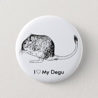Love Degus - Pins