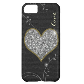 love delicate heart for girls iPhone 5C case