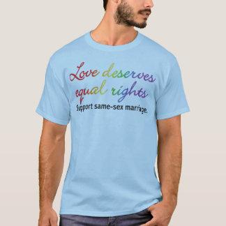 Love Deserves Equal Rights T-Shirt