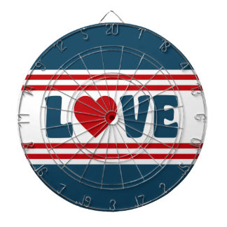 Love design dartboard