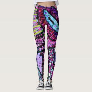Love designer leggings by Cindy Ginter