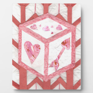 Love Dice on a Easel Plaque