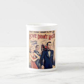 Love Didn't Last vintage romance magazine mug Bone China Mug