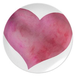 Love Dinner Plates