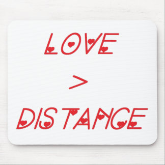 LOVE>DISTANCE MOUSE PAD