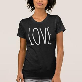 Love, DIY font+color T-Shirt