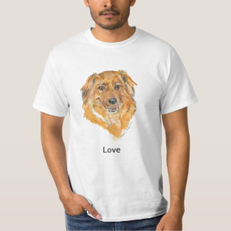 Love:  Dog Thoughts T Shirts