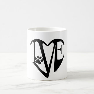 Love Dogs Design Mug